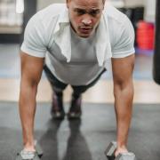 Bang om spieren te verliezen