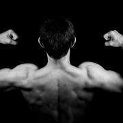 spieren zichtbaar maken